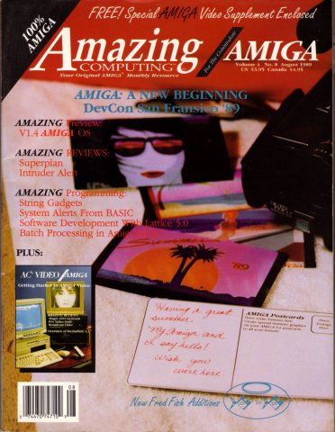 Amazing Computing Issue 041 Vol. 04 No. 08 (August 1989)