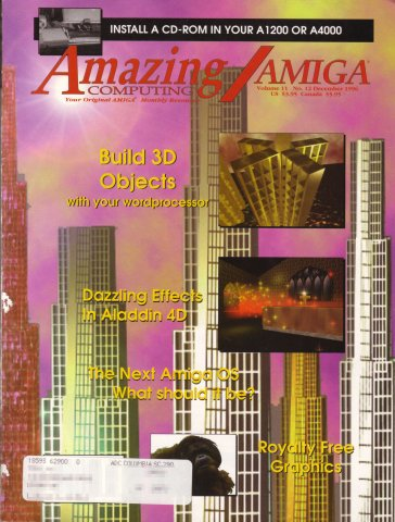 Amazing Computing Issue 126 Vol. 11 No. 12 (December 1996)