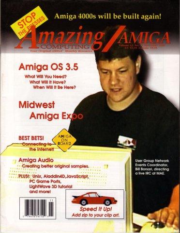Amazing Computing Issue 149 Vol. 13 No. 11 (November 1998)