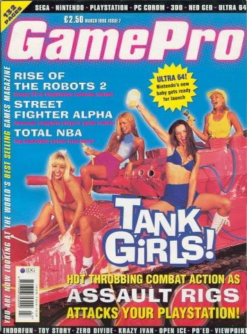 GamePro UK Issue 07 (March 1996)