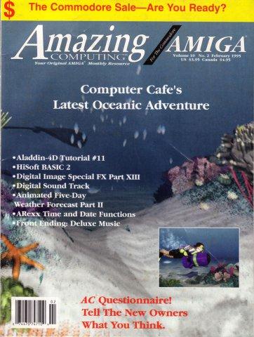 Amazing Computing Issue 105 Vol. 10 No. 02 (February 1995)