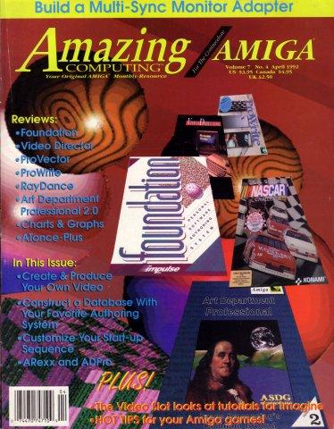 Amazing Computing Issue 073 Vol. 07 No. 04 (April 1992)