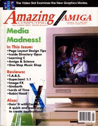 Amazing Computing Issue 086 Vol. 08 No. 05 (May 1993)