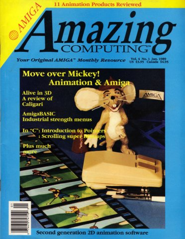 Amazing Computing Issue 034 Vol. 04 No. 01 (January 1989)