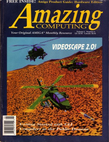 Amazing Computing Issue 026 Vol. 03 No. 05 (May 1988)