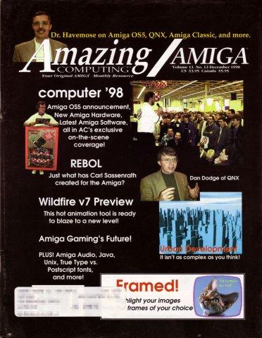 Amazing Computing Issue 150 Vol. 13 No. 12 (December 1998)