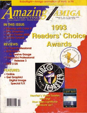 Amazing Computing Issue 093 Vol. 08 No. 12 (December 1993)