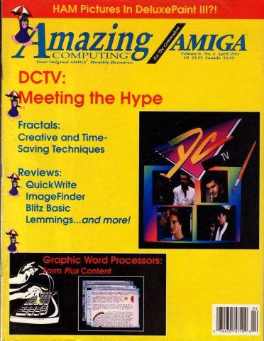 Amazing Computing Issue 061 Vol. 06 No. 04 (April 1991)