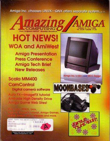 Amazing Computing Issue 157 Vol. 14 No. 08 (August 1999)