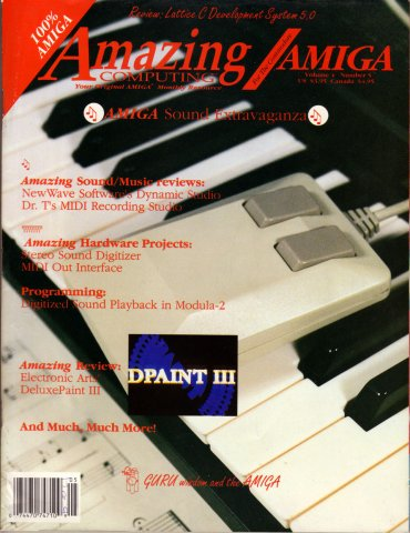 Amazing Computing Issue 038 Vol. 04 No. 05 (May 1989)