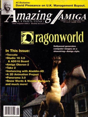 Amazing Computing Issue 102 Vol. 09 No. 09 (September 1994)