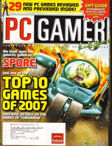 PC Gamer Issue 157 January 2007