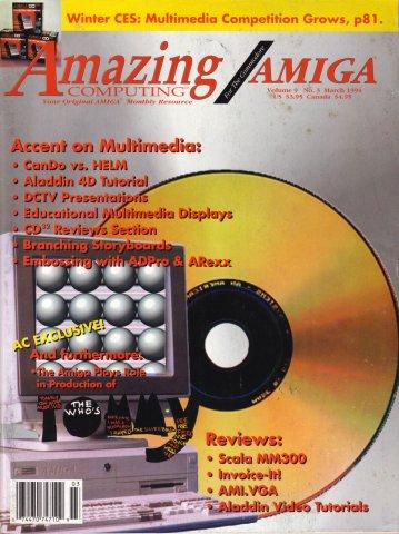Amazing Computing Issue 096 Vol. 09 No. 03 (March 1994)