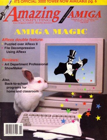 Amazing Computing Issue 067 Vol. 06 No. 10 (October 1991)
