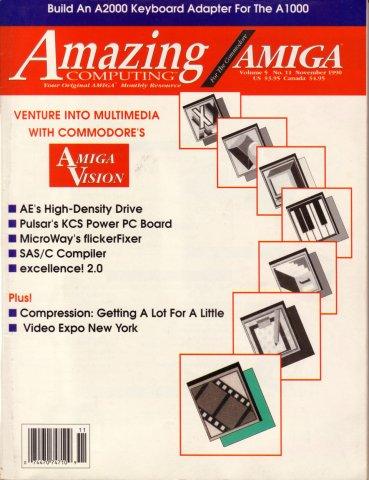 Amazing Computing Issue 056 Vol. 05 No. 11 (November 1990)