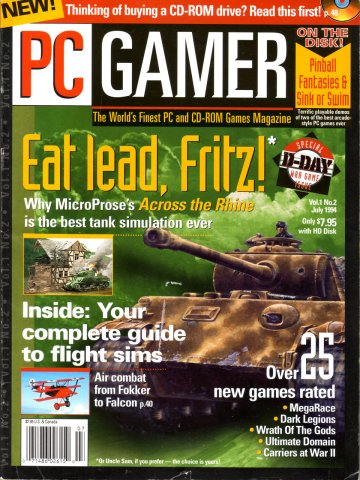 PC Gamer Issue 002 (July 1994)