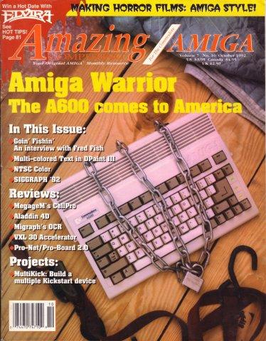 Amazing Computing Issue 079 Vol. 07 No. 10 (October 1992)