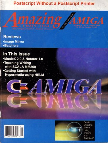 Amazing Computing Issue 101 Vol. 09 No. 08 (August 1994)