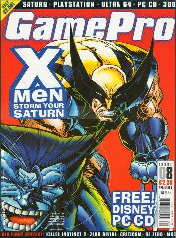 GamePro UK Issue 08 (April 1996)