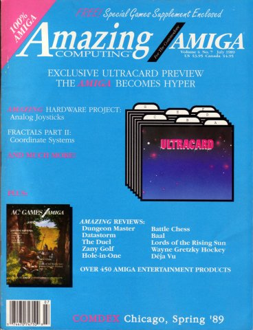Amazing Computing Issue 040 Vol. 04 No. 07 (July 1989)