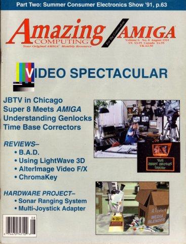Amazing Computing Issue 065 Vol. 06 No. 08 (August 1991)