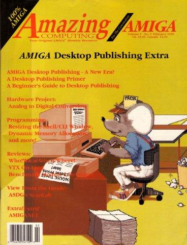 Amazing Computing Issue 047 Vol. 05 No. 02 (February 1990)