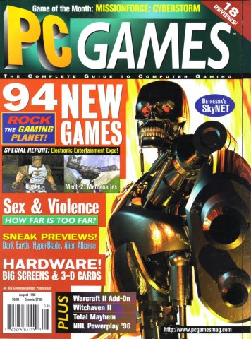 PC Games Vol. 03 No. 08 (August 1996)