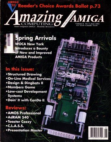 Amazing Computing Issue 087 Vol. 08 No. 06 (June 1993)