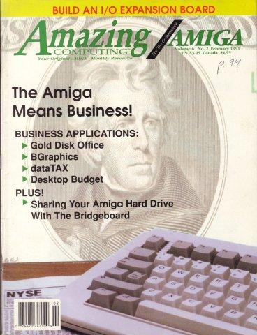 Amazing Computing Issue 059 Vol. 06 No. 02 (February 1991)
