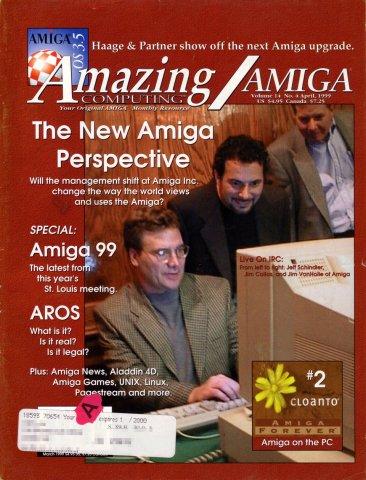 Amazing Computing Issue 153 Vol. 14 No. 04 (April 1999)