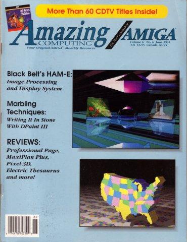 Amazing Computing Issue 063 Vol. 06 No. 06 (June 1991)