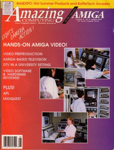 Amazing Computing Issue 053 Vol. 05 No. 08 (August 1990)