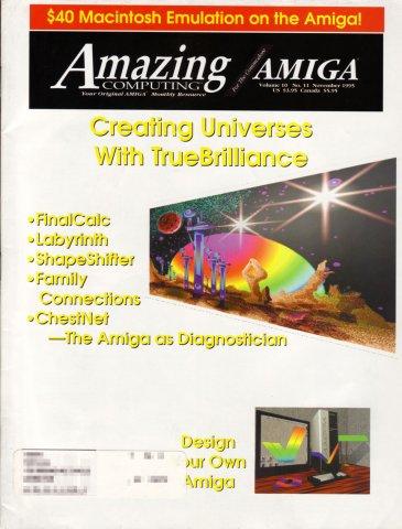 Amazing Computing Issue 113 Vol. 10 No. 11 (November 1995)