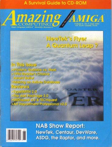 Amazing Computing Issue 099 Vol. 09 No. 06 (June 1994)