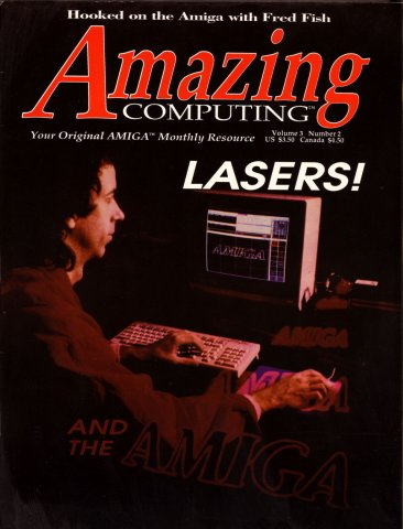 Amazing Computing Issue 023 Vol. 03 No. 02 (February 1988)