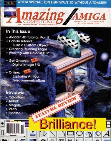 Amazing Computing Issue 092 Vol. 08 No. 11 (November 1993)