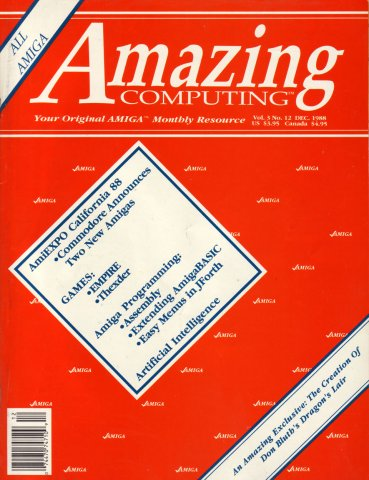 Amazing Computing Issue 033 Vol. 03 No. 12 (December 1988)