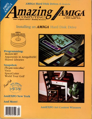 Amazing Computing Issue 037 Vol. 04 No. 04 (April 1989)