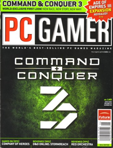 PC Gamer Issue 149 June 2006