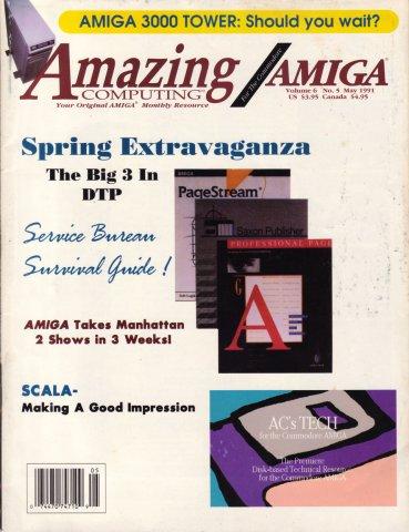 Amazing Computing Issue 062 Vol. 06 No. 05 (May 1991)