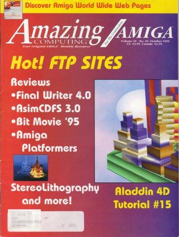 Amazing Computing Issue 112 Vol. 10 No. 10 (October 1995)