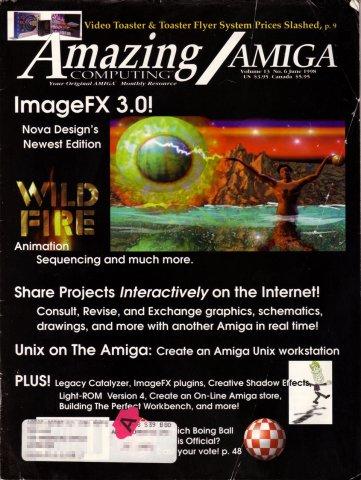 Amazing Computing Issue 144 Vol. 13 No. 06 (June 1998)