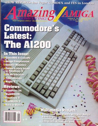 Amazing Computing Issue 082 Vol. 08 No. 01 (January 1993)