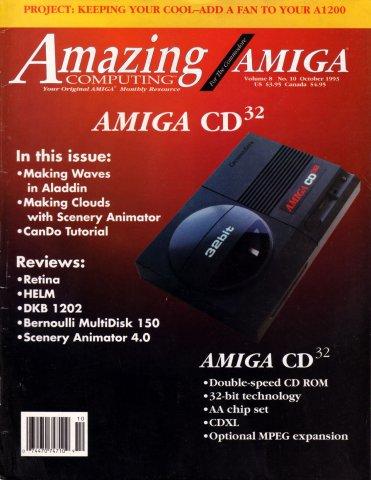 Amazing Computing Issue 091 Vol. 08 No. 10 (October 1993)