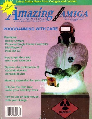 Amazing Computing Issue 070 Vol. 07 No. 01 (January 1992)