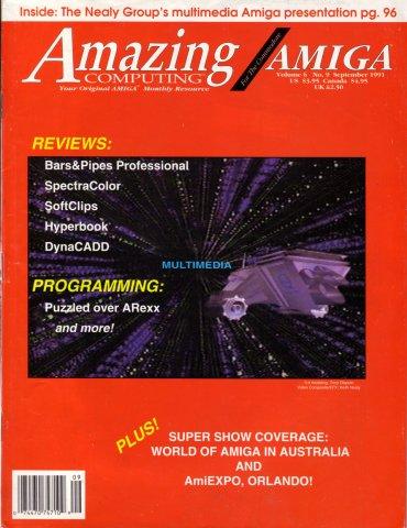 Amazing Computing Issue 066 Vol. 06 No. 09 (September 1991)