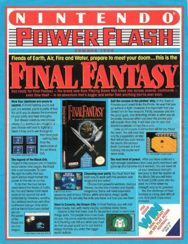 Nintendo Power Flash 08 (Summer 1990)