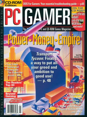 PC Gamer Issue 008 January 1995