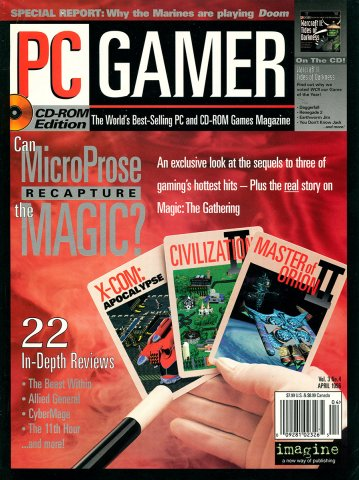 PC Gamer Issue 023 April 1996