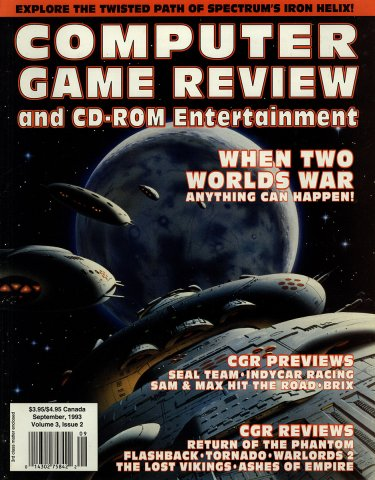 Computer Game Review Issue 26 (September 1993)